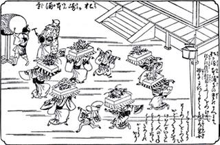 本涌寺で行われていた題目踊り.jpeg